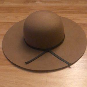 Old navy wool wide-brim hat